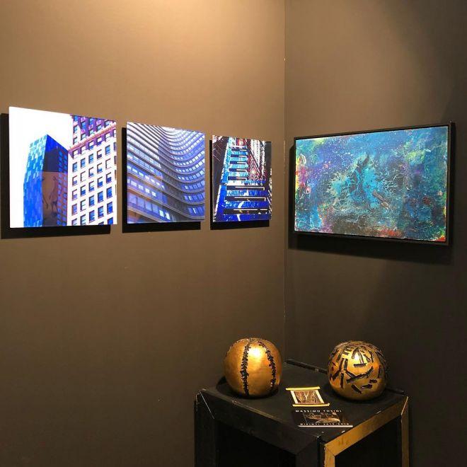 Sculture di Massimo Tosini -MARCO ANTONIO PATRIZIO Gallery ArtParma Fair Booth 38