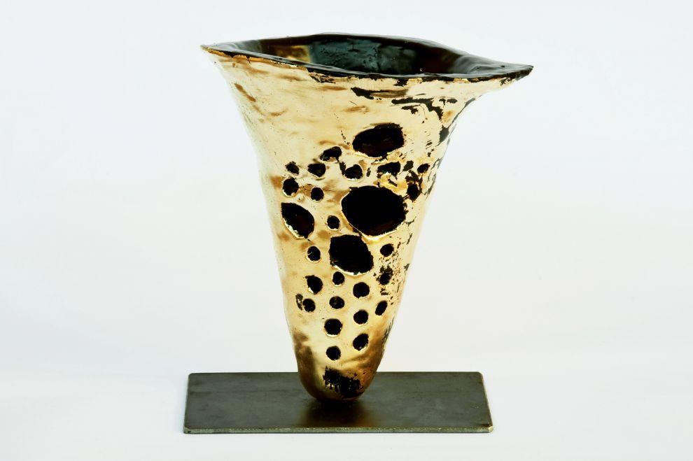 """32 """"Tromba del Suono Perduto"""" - anno 2017, diametro 25 cm"""